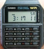 Casio Smart Watch aus den 80'ern